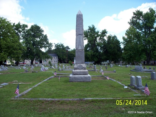 Civil War Monument - Lincoln Memorial Cemetery