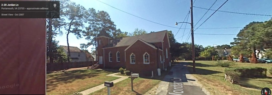 First Baptist Church, West Norfolk, 2007. Google Maps.