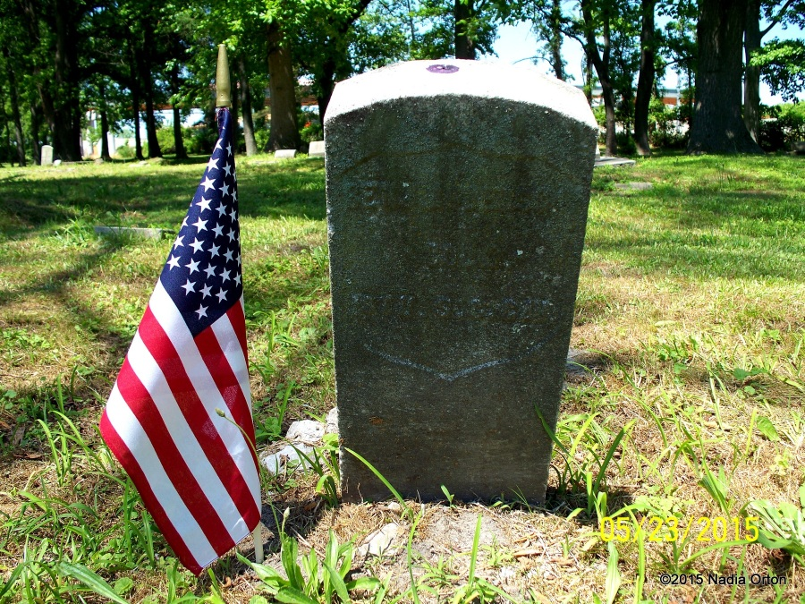 Pvt. Benjamin Anderson Mt. Olive Cemetery Portsmouth