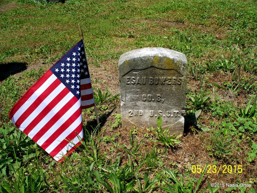 Pvt. Esau Bowers Mt. Olive Cemetery Portsmouth
