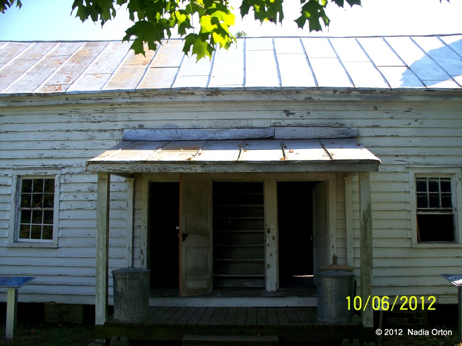 Slave/tenant house at Bacons Castle, Surry County, October 6, 2012