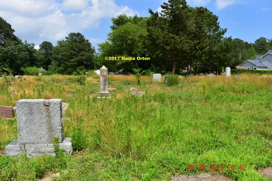 Accomack County African American cemetery copyright 2017 Nadia Orton