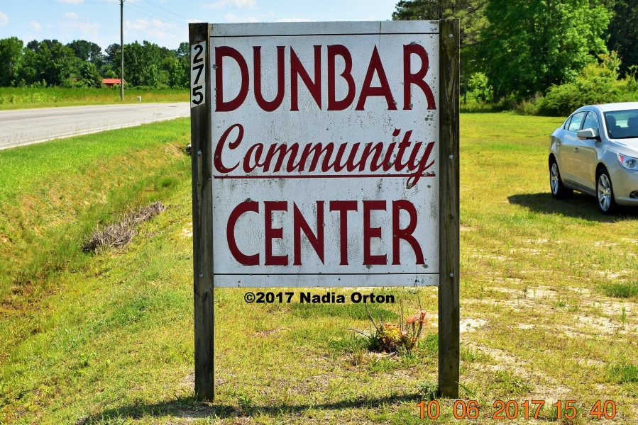 Dunbar Center North Carolina Copyright 2017 Nadia Orton