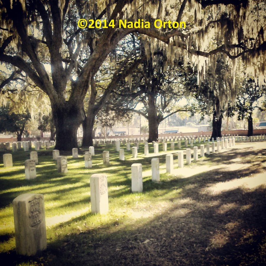 USCT Beaufort National Cemetery Copyright 2014 Nadia Orton